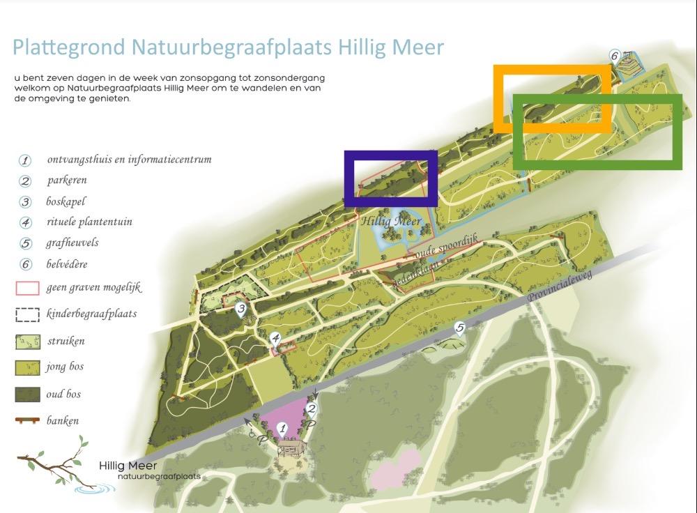 Als u de Natuurbegraafplaats bezoekt, dan ziet u dat onze terreinbeheerders op een paar plaatsen onderhoud hebben uitgevoerd.