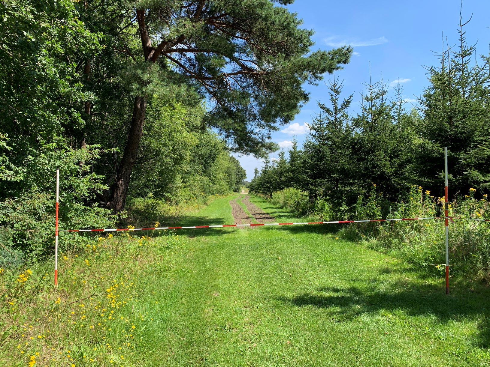Onderhoud aan de paden en lanen